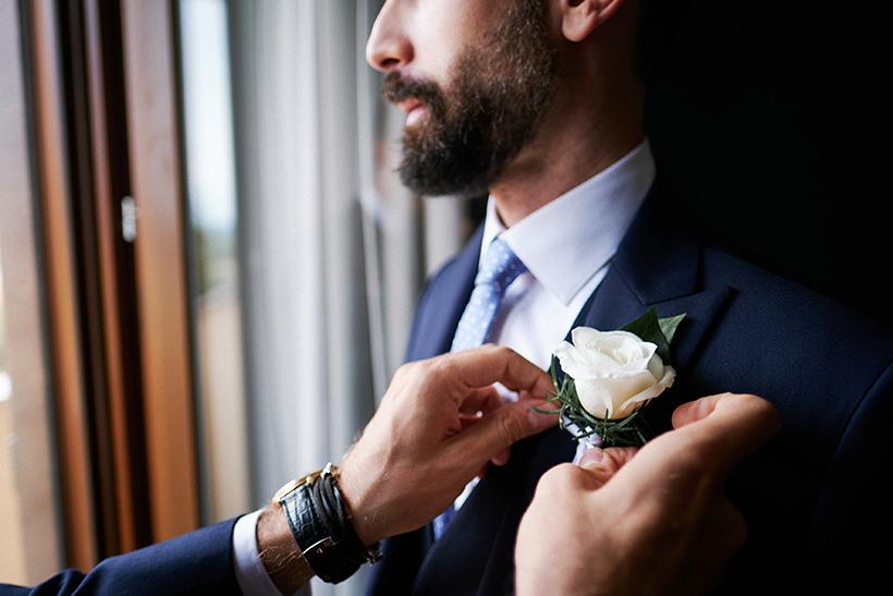 preparazione sposo tenuta castello cerrione
