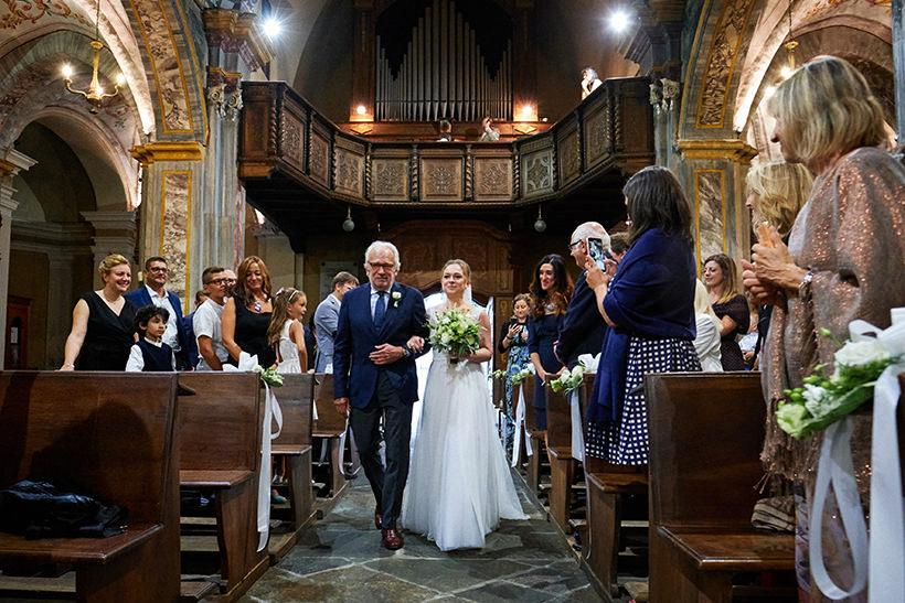 ingresso sposa matrimonio biella