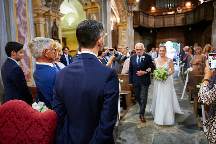 arrivo sposa matrimonio tenuta castello cerrione