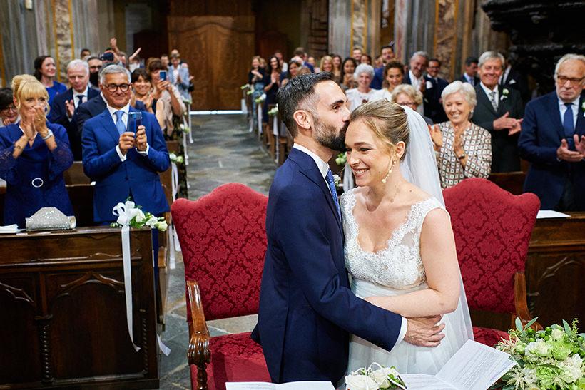 cerimonia di matrimonio sposi biella