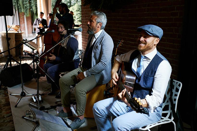 aperitivo live music matrimonio tenuta castello cerrione