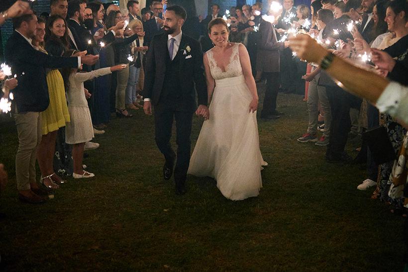 sparklers wedding tenuta castello cerrione