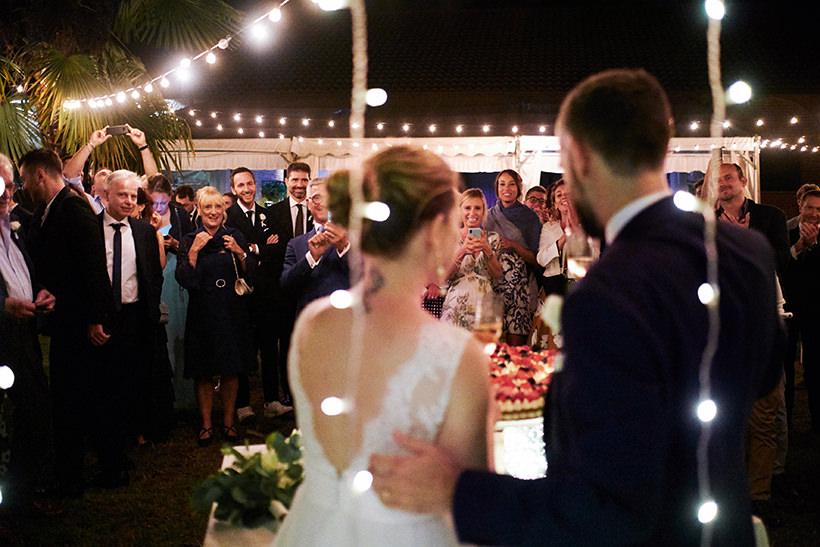 taglio torta nuziale matrimonio biella