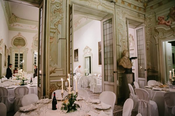 Villa Durazzo wedding reception