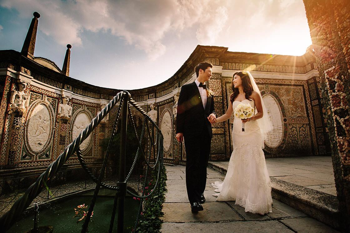 wedding photographer villa d'este
