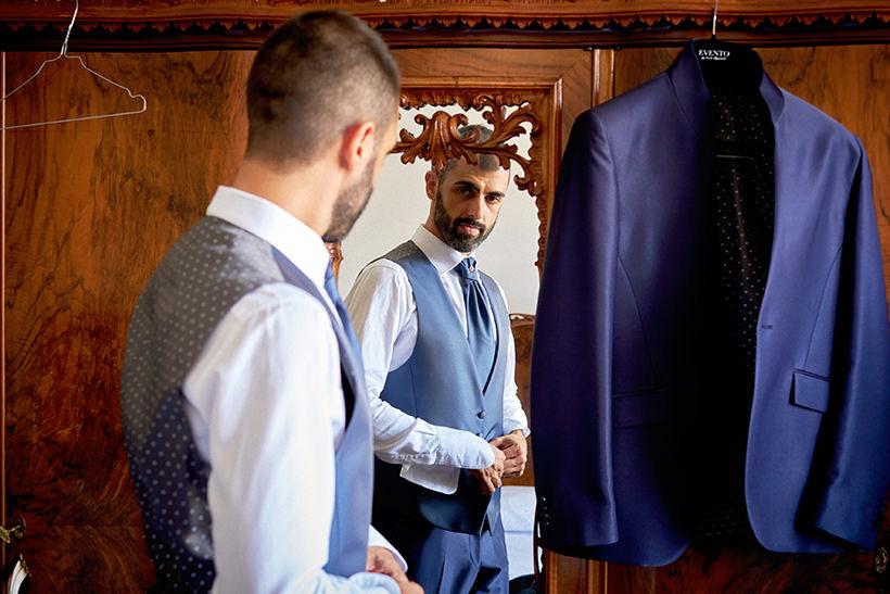 matrimonio varazze preparazione sposo