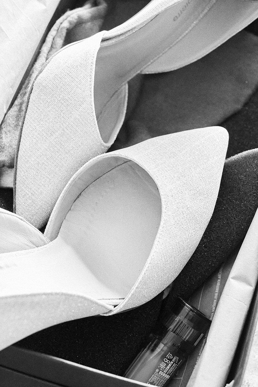dettaglio matrimonio italiano scarpe sposa