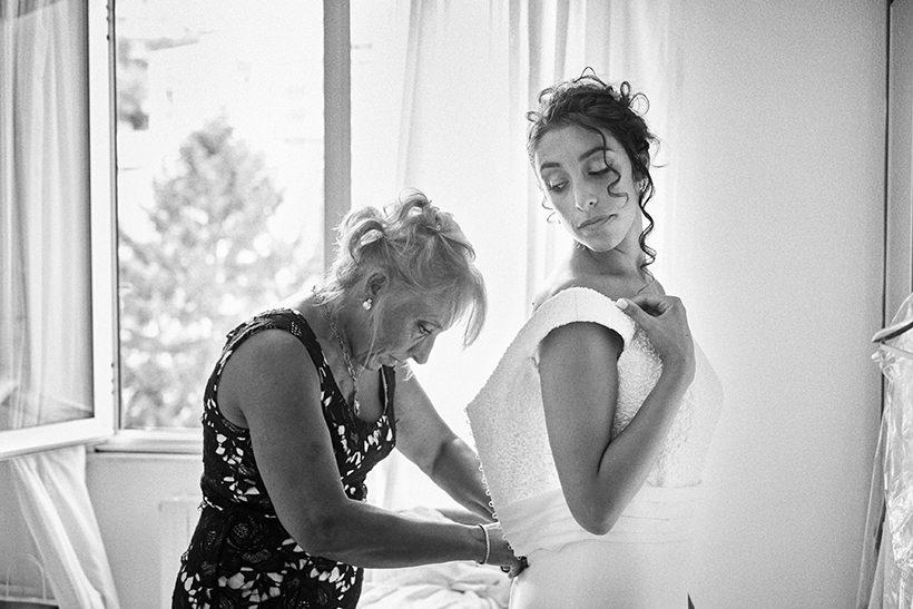 wedding la ginestra bride getting ready