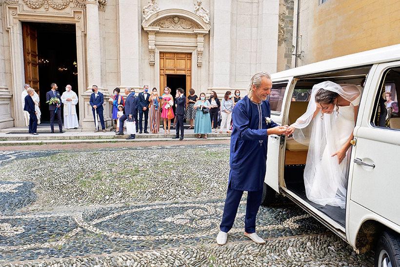 arrivo sposa matrimonio sant ambrogio varazze
