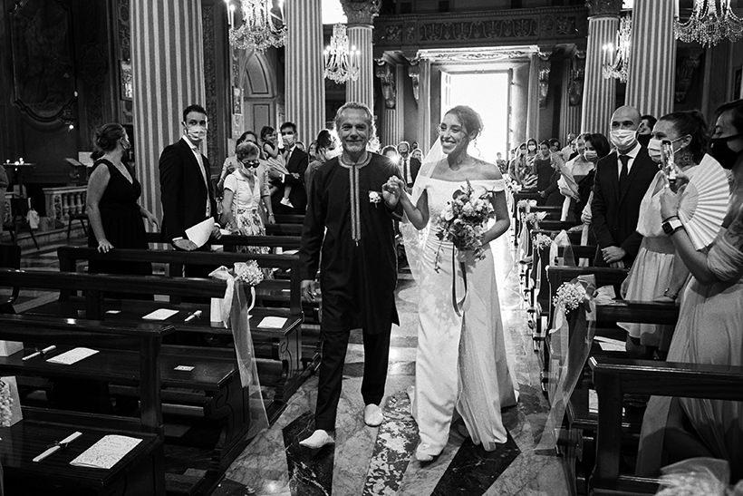 ingresso sposa matrimonio sant ambrogio varazze