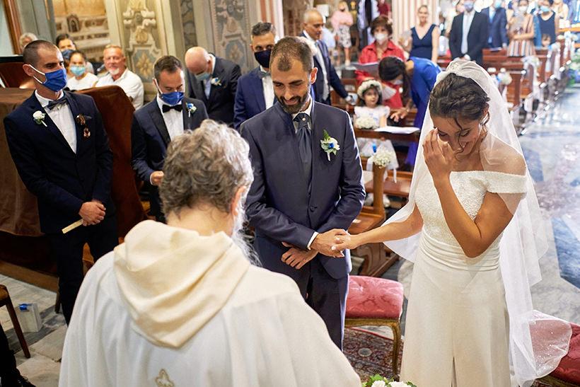wedding vows italian riviera wedding