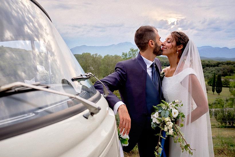 sposi pulmino Volkswagen VW