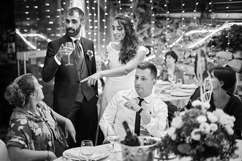 cena ospiti matrimonio la ginestra