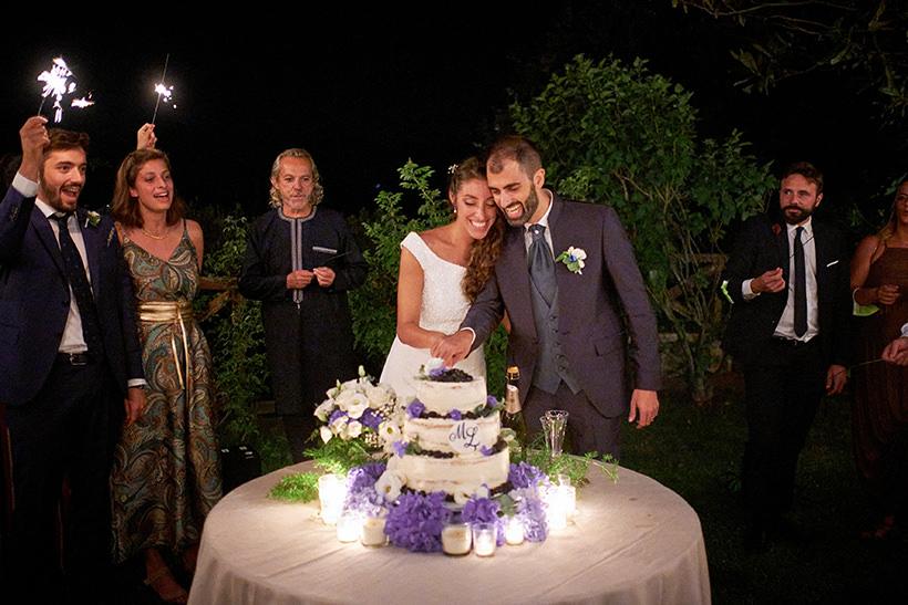 taglio della torta matrimonio la ginestra