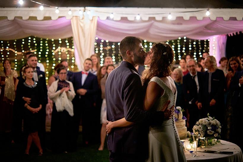 bacio sposi matrimonio la ginestra