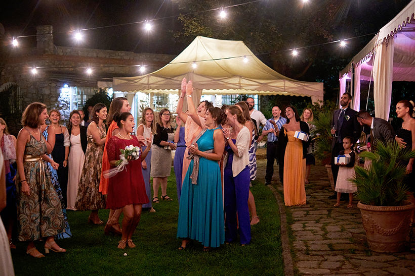 ospiti invitate matrimonio la ginestra