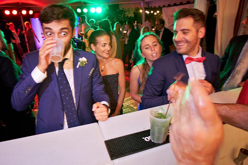 open bar matrimonio la ginestra